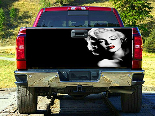 Beautiful actress Tailgate Wrap, Truck Decal, Tailgate Sticker gc2840