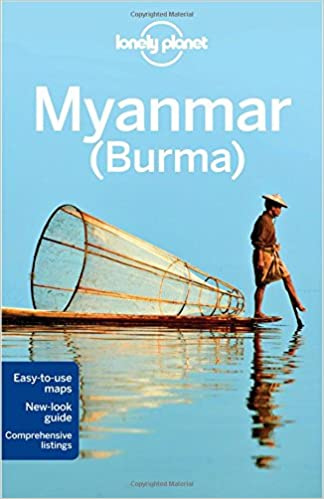 Lonely Planet, Country Guide, Myanmar, Burma