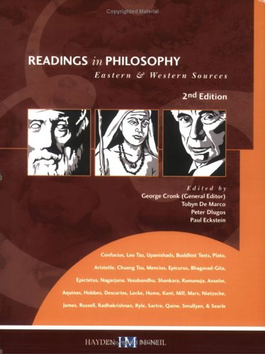 Readings in Philosophy: Eastern & Western Sources