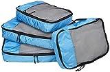AmazonBasics 4-Piece Packing Cube Set - 2 Medium and 2 Large