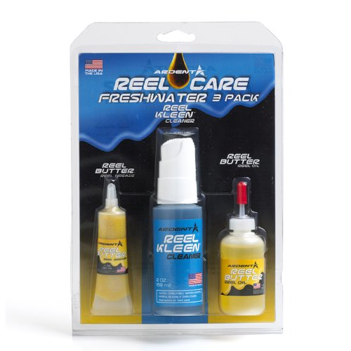 Ardent Reel Care 3 Pack Reel Care Freshwater 3 Pack, - Blue Reels