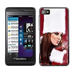 YOYO Slim PC / Aluminium Case Cover Armor Shell Portection //Christmas Holiday Sexy Hot Girl Woman 1022 //Blackberry Z10