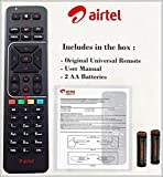 Airtel 100% Original HD Recording Universal Remote (Directly from the Company)