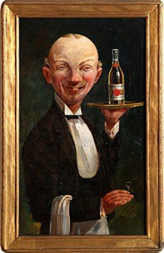 The Handsome Waiter (Gold Medal Tivoli Beer)