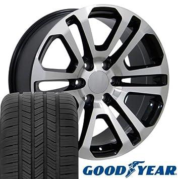 20 x 9 ruedas Llantas y neumáticos para camiones de GM - GMC Sierra estilo -