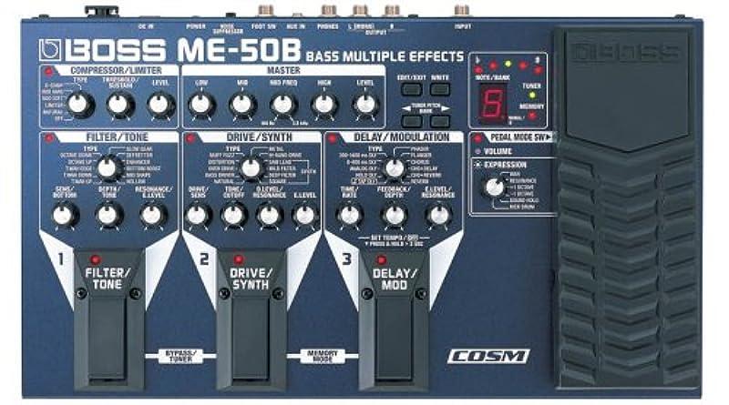 BOSS 베이스용 멀티 이펙터 ME-50B