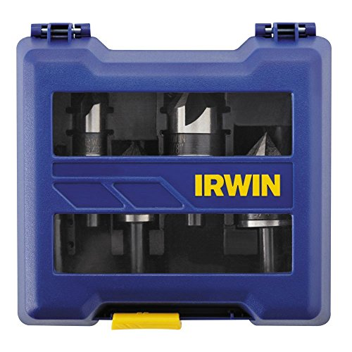 Irwin Tools 1877793  Countersink Drill Bit,  Black Oxide, 5-Piece