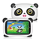 GHIA Android Kids Tablet – Android 8.1 Oreo (Go Edition) GMS Aprobación OS, Soporte Iwawa Parent Control, cámara Dual Bluetooth, 1GB/8GB, 1024x600 HD Panel, [diseño de Panda]
