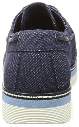 Tommy Hilfiger Damen M1285acy 3d Bootsschuhe Blau (Denim 404)