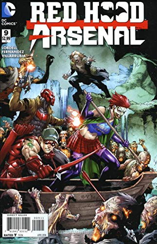 Red Hood/Arsenal #9 VF/NM ; DC comic book