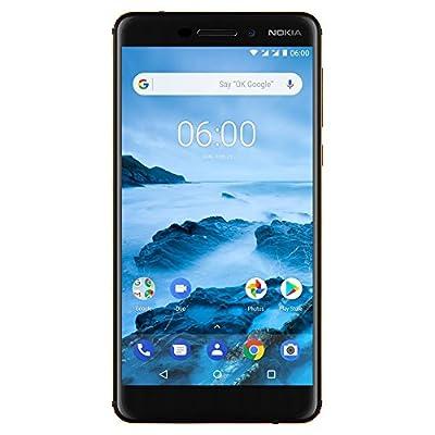 "Nokia 6.1 (2018) - 32 GB - Unlocked Smartphone - 5.5"" Screen - Black"