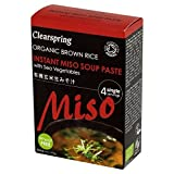 Clearspring Organic Miso Soup Paste 4 x 15g - Pack of 6