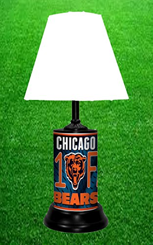 CHICAGO BEARS TABLE LAMP