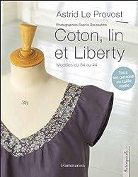 Coton, lin et liberty par Astrid Le Provost