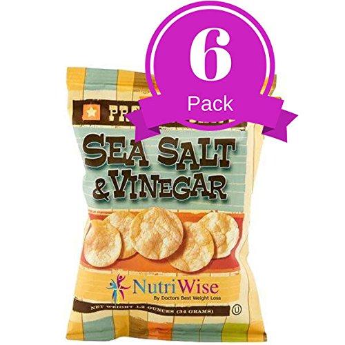 NutriWise - Sea Salt & Vinegar Potato Chips (80 Bags) by NutriWise (Image #4)
