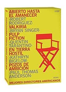 Pack: Directores Americanos [DVD]: Amazon.es: George Clooney, Quentin Tarantino, Kenneth Branagh, Tom Cruise, John Travolta, Samuel L. Jackson, Uma Thurman, Daniel Day-Lewis, Robert Rodriguez, Bryan Singer, Quentin Tarantino, Kathryn Bigelow, Paul Thomas