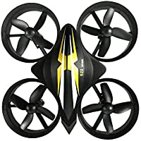 Owill YILE S22 2.4GHZ Mini 4CH 4-Axis Quadcopter 3D Flips Drone All Inclusive Pattern With 2 LED Lights (Black)