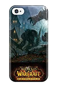 New Style CaseyKBrown World Of Warcraft Cataclysm Game Premium Tpu Cover Case For Iphone 4/4s