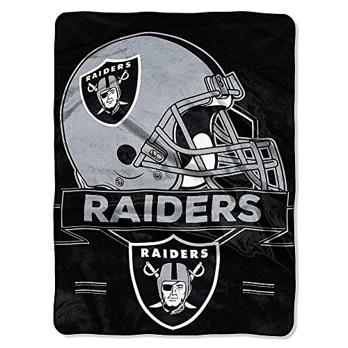 - The Northwest Company NFL Oakland Raiders Prestige Plush Raschel Blanket, 60