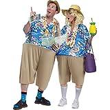 Fun World Tacky Tourist, Multi, Unisex-Men up to 6/200 lbs… Womne Size 4-14
