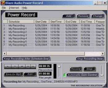 Blaze Audio Radio Recorder Suite ()