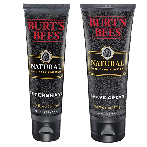 Burt's Bees Men's Shave Cream + Aftershave 6oz + 2.5oz
