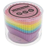 Freshware Silicone Baking Cups [12-Pack] Reusable