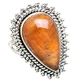Ana Silver Co Sunstone 925 Sterling Silver Ring Size 9.25 RING835185