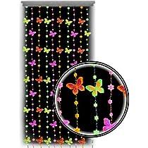Black Light Reactive Neon Butterflies Bedroom