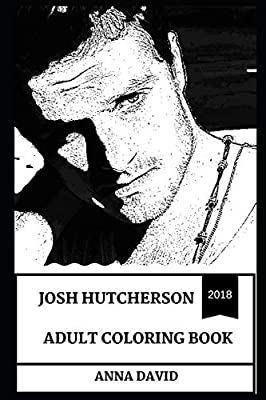 Josh Hutcherson Adult Coloring Book The Hunger Games Star And