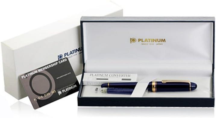 Platinum#3776 CENTURY//Chartres Blue nib : Extra Fine