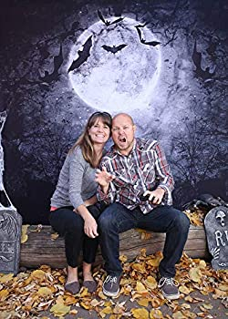 10x8ft Backdrops Halloween Night Cosplay Photography Backdrop Photo Props for Children Event LHFU546