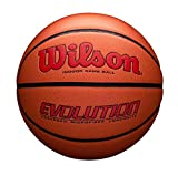 Wilson Evolution Game Basketball, Scarlet, Official Size -29.5""