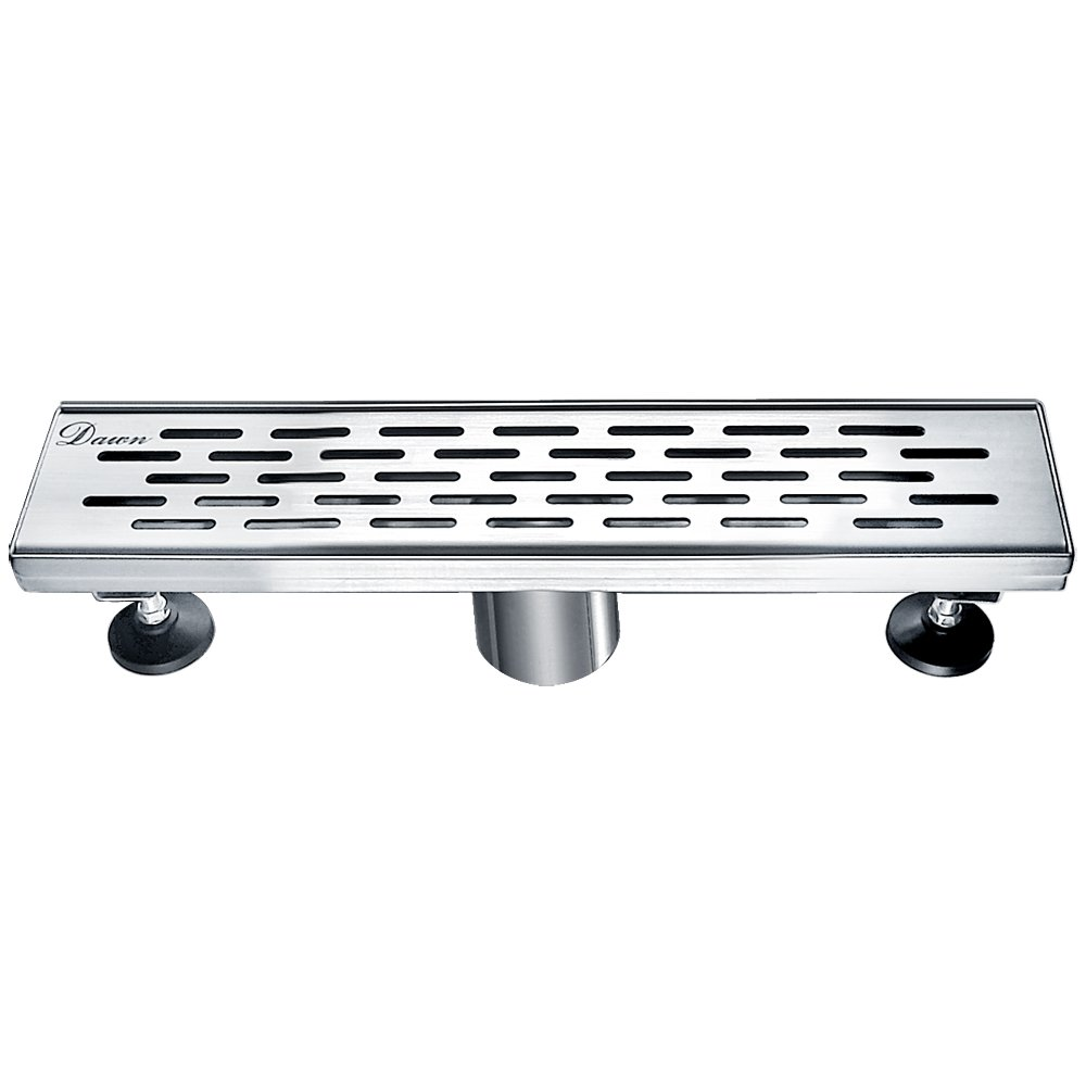 Dawn LYE120304 Yangtze River Series Linear Shower Drain, 12-Inch