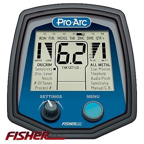 detector de Metales profesional Fisher Pro-Arco Para Arqueólogos Oro y Metales Pro ARCO: Amazon.es: Electrónica