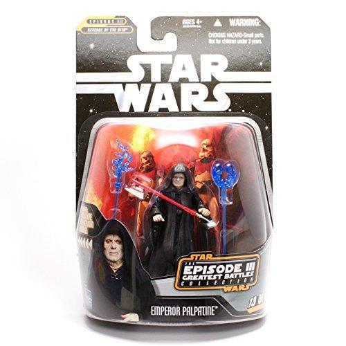 - Hasbro Star Wars Greatest Hits Basic Figure Episode 3 Emperor Palpatine