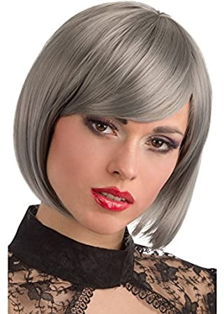Th Mp Modische Granny Hair Frisur Bob Kurzhaar Perucke Damen