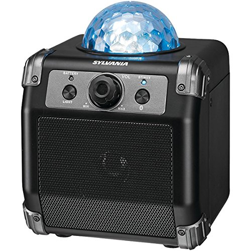 Sylvania Bluetooth Speaker Disco Ball