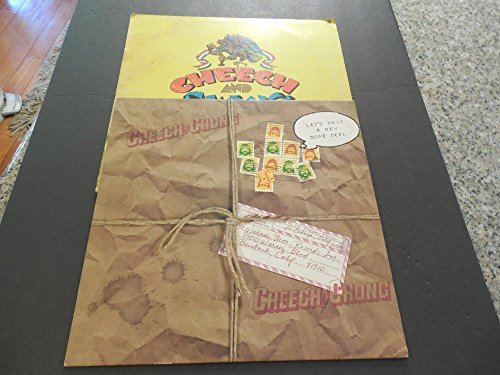 2 Cheech Chong Albums, Let's Make A New Dope Deal Big Bambo Vinyl VG