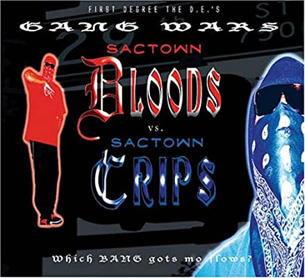 First Degree The D E Sactown Bloods Vs Sactown Crips Amazon