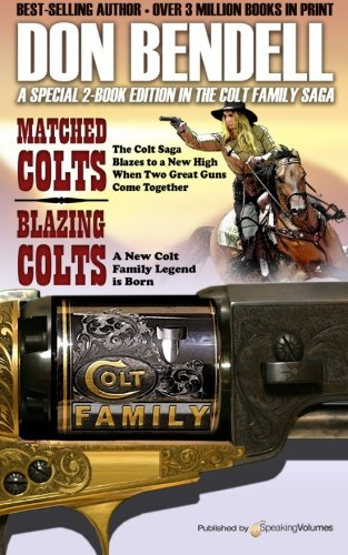 book cover of Matched Colts / Blazing Colts