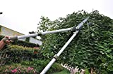 Worth Garden Hedge Shear with 10 inch Blade, Extendable Long Reach Clipper