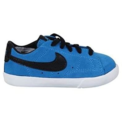 watch b47a2 71110 NIKE Blazer Mid Infant Toddler Kids Trainer - Blue Black, UK 4   Amazon.co.uk  Shoes   Bags