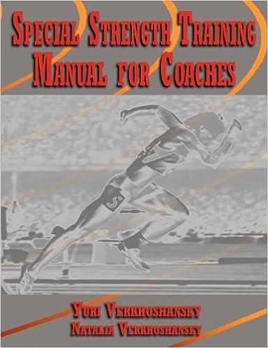 special strength training manual for coaches verkoshansky