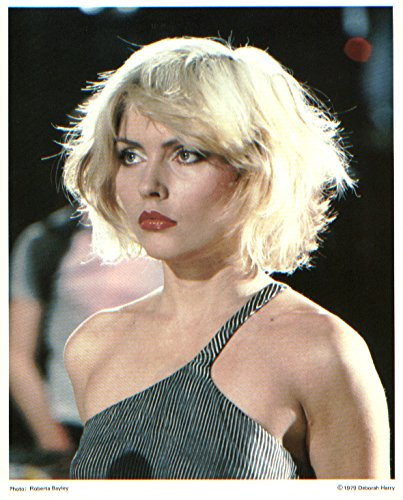 Blondie Debbie Harry Beautiful 8x10 Original photo 1979 Fan Club Heart Of Glass Deborah Harry