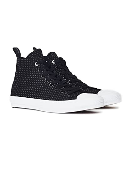 fe544763e029 Converse Mens Chuck II Shield Lycra Black Synthetic Trainers 8 UK   Amazon.co.uk  Clothing