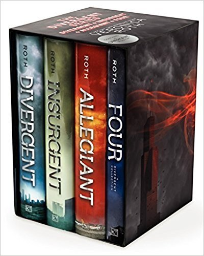 Divergent Series Ultimate Four-Book Box Set: Divergent, Insurgent, Allegiant, Four by Roth, Veronica(July 8, 2014) Hardcover