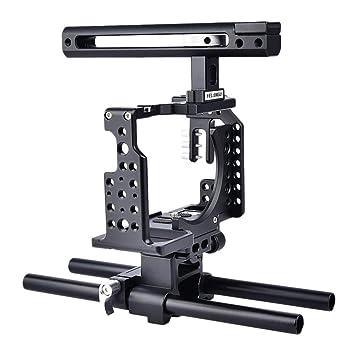 Gazechimp Cámara Réflex Digital Jaula Universal para A7K A72 A73 ...