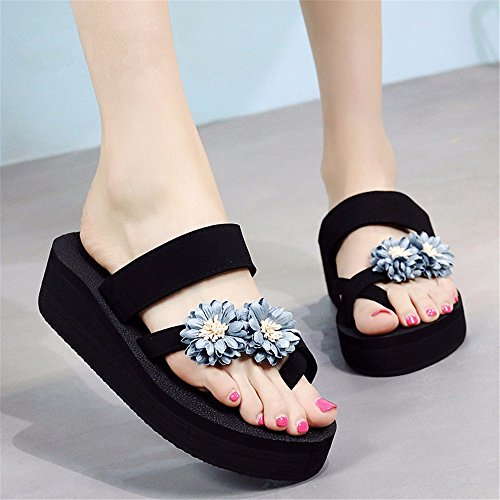 sandalias de al cómodas verano Moda playa chanclas FLYRCX aire antideslizante de calzado libre de f damas y wqY8CTxp