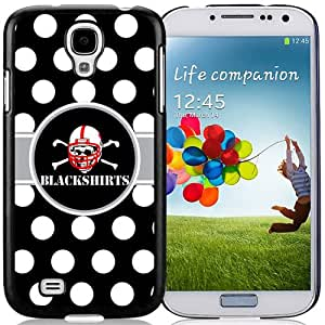 Fashionable And Unique Designed With Ncaa Big Ten Conference Football Nebraska Cornhuskers 20 Protective Cell Phone Hardshell Cover Case For Samsung Galaxy S4 I9500 i337 M919 i545 r970 l720 Phone Case Black